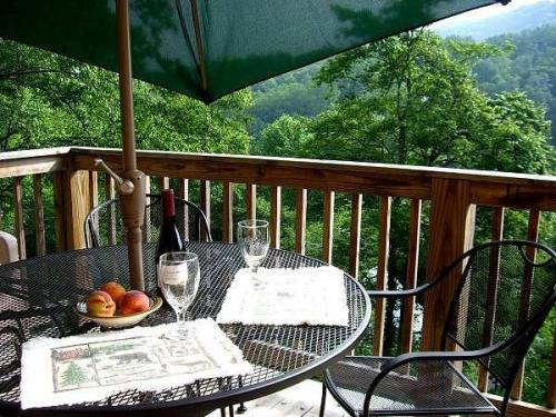 28 picnic table with wine