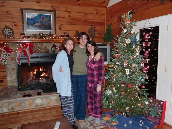 Collection Of Christmas Cabin Rentals Christmas Tree